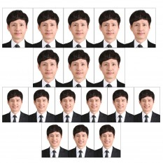 증명사진인화 아기여권사진인화 8매